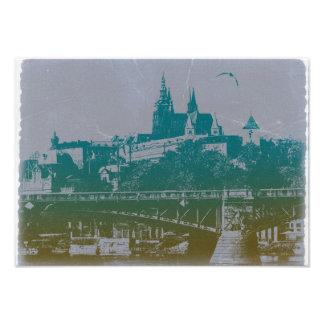 Prague old town square photo