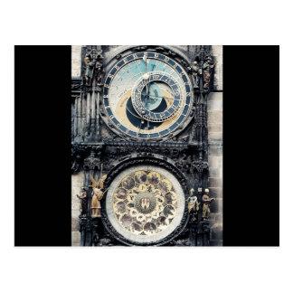 Prague Orloj Postcard