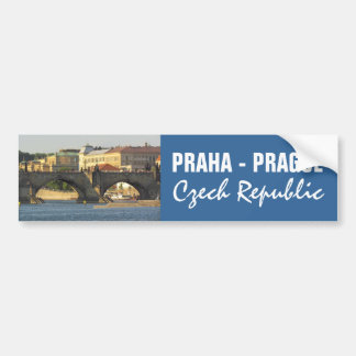 Prague / Praha custom bumpersticker Bumper Sticker