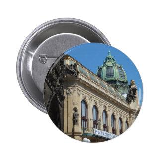 Prague Praha custom button