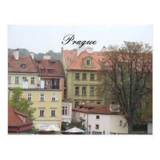 Prague Praha Czech Republic Beautiful Buildings Postcard