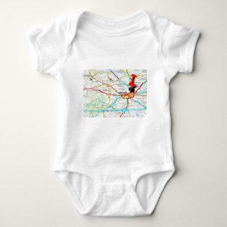 Prague, Praha in Czech Republic Baby Bodysuit