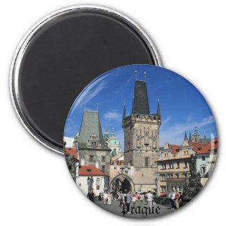 Prague Refrigerator Magnet