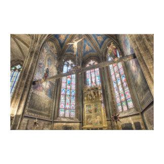 Prague St.Vitus Cathedral Chapel Canvas