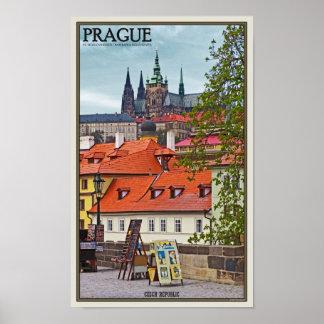 Prague - St Vitus Cathedral Poster