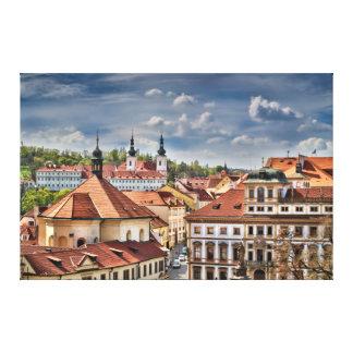 Prague Strahov Tuscany Palace Canvas Print
