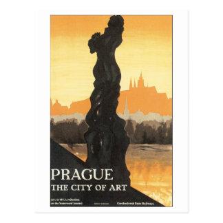 Prague, The City of Art Postcard