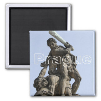 Prague Travel Photo Souvenir Fridge Magnet