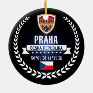 Praha Ceramic Ornament