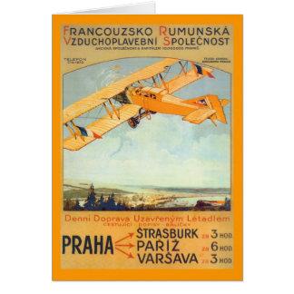 Praha ~ Franco Roumanie Greeting Card