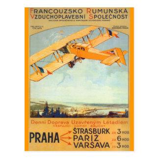 Praha ~ Franco Roumanie Postcard