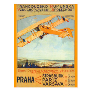 Praha Franco Roumanie Postcards