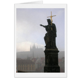Praha Greeting Card