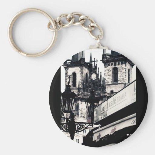 Praha Key Chains