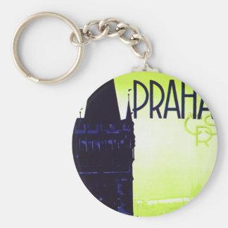Praha Key Chain