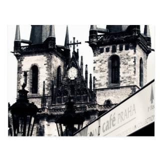Praha Postcard