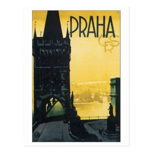 Praha Post Card