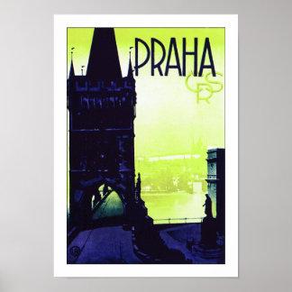 Praha ~ Prague Poster