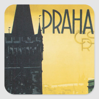 Praha Sticker