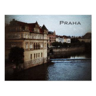 Praha Vintage Postcard