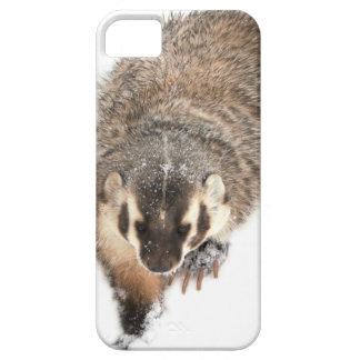 Prairie Badger in Winter snow Barely There iPhone 5 Case
