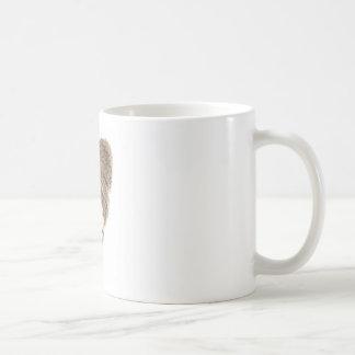 Prairie Badger in Winter snow Coffee Mug