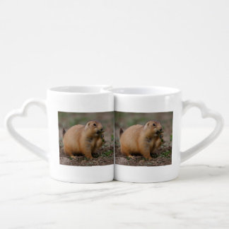 prairie dog couple mugs