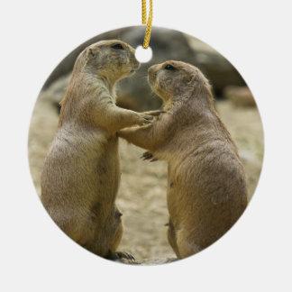 Prairie Dog Deal Ornament