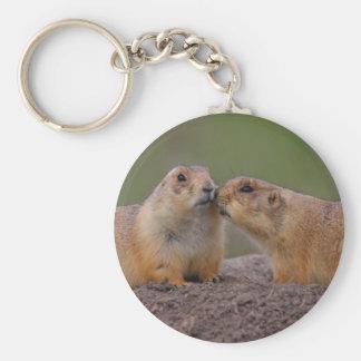 prairie dog key ring