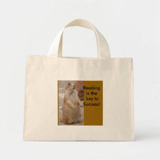 Prairie dog - reading book bag