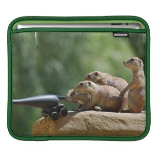 Prairie Dog Soldiers iPad Sleeve