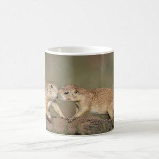 Prairie Dogs Greeting Coffee Mug