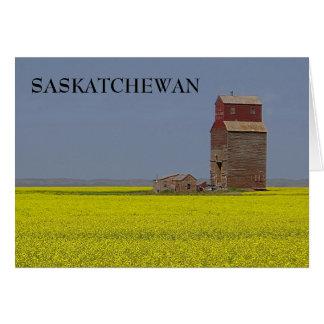 Prairie Elevator Landscape Card
