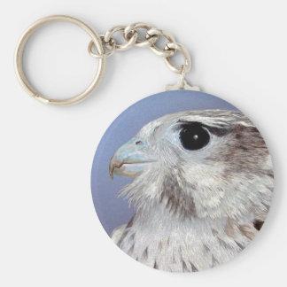 Prairie Falcon Keychain