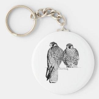 Prairie Falcons Key Chain