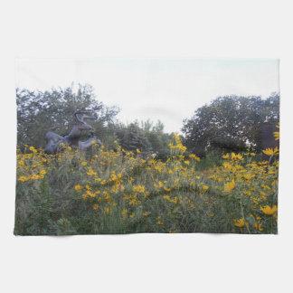 Prairie Garden Hand Towel