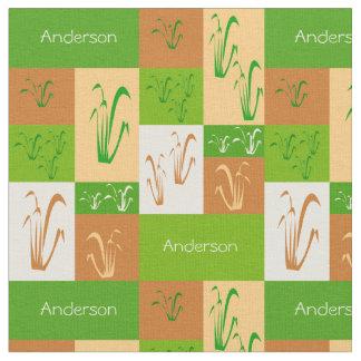 Prairie Grass Name Fabric