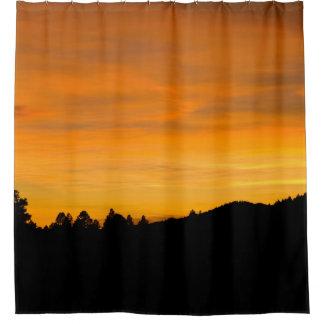 Prairie Hills At Sunset Photograph Shower Curtain