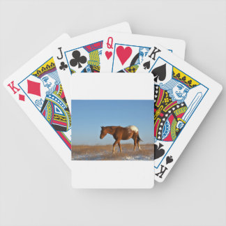 Prairie Horse Bicycle Playing Cards
