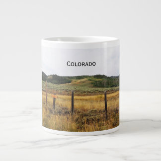 prairie in Colorado Large Coffee Mug
