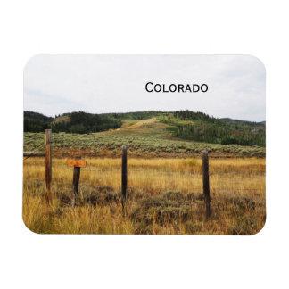 prairie in Colorado Magnet