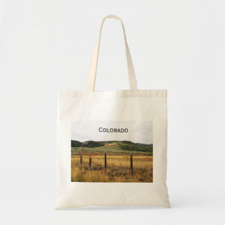 prairie in Colorado Tote Bag