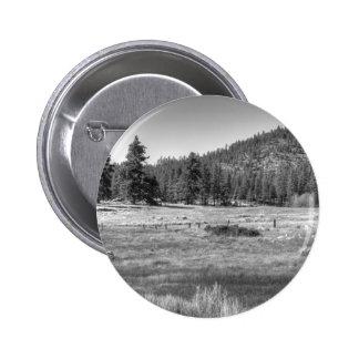 Prairie In South Lake Tahoe Pinback Buttons