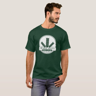 Prairie Roots White Logo Tee