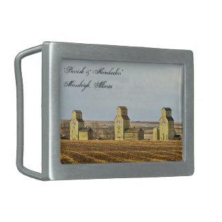 Prairie Sentinels Mossleigh Alberta Belt Buckle