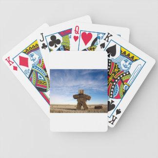 Prairie Strawman Poker Deck