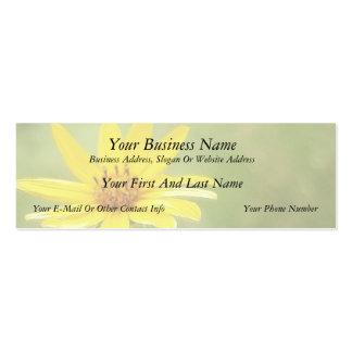 Prairie Sunflower - Helianthus maximilianii Business Card Template