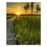 Prairie Sunset Photo Art
