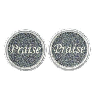 Praise Among The Panes Cufflinks