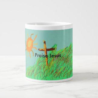 Praise Jesus Inspirational Coffee Mug